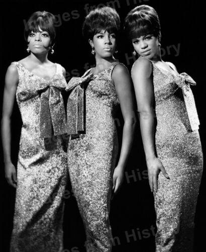 8x10 Print The Supremes Diana Ross Mary Wilson Florence Ballard 1958 #3351