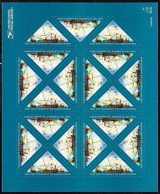 2007 - JAMESTOWN - #4136 Full Mint -MNH- Sheet of 20 Postage Stamps
