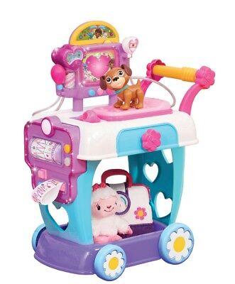 DISNEY Doc MCSTUFFINS Hospital CARE Cart KIDS Girls PRETEND Play PLAYSET Toy NEW](Doc Mcstuffins Cart)