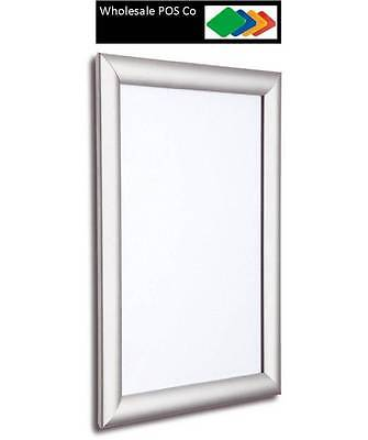 A1 SNAP FRAME 25MM WALL CLICK FRAME POSTER HOLDER ADVERTISEMENT DISPLAYS x 5 for sale  Shipping to Ireland