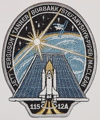 Aufnäher Patch Raumfahrt NASA STS-115 Space Shuttle Atlantis ...........A3030