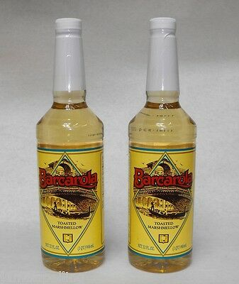(2 Pack) Gourmet TOASTED MARSHMALLOW SYRUP 32oz Coffee Drink Italian Soda Flavor