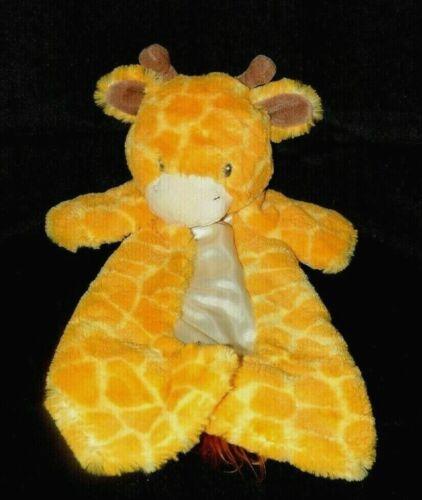 """Baby Gund Tucker HuggyBuddy Giraffe Plush Soft Cozy 16"""" Security Blanket 320184"""