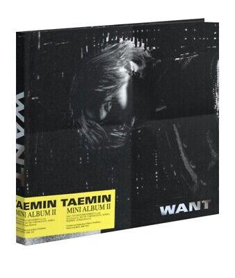 [ SHINEE TAEMIN - WANT ] 2nd Mini Album SEALED Random Ver CD + Photobook+etc