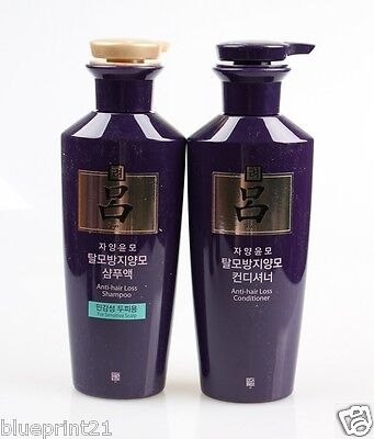 Amore Pacific Ryo Jayangyunmo Shampo Sensitive + Conditioner 400ml Free Shipping