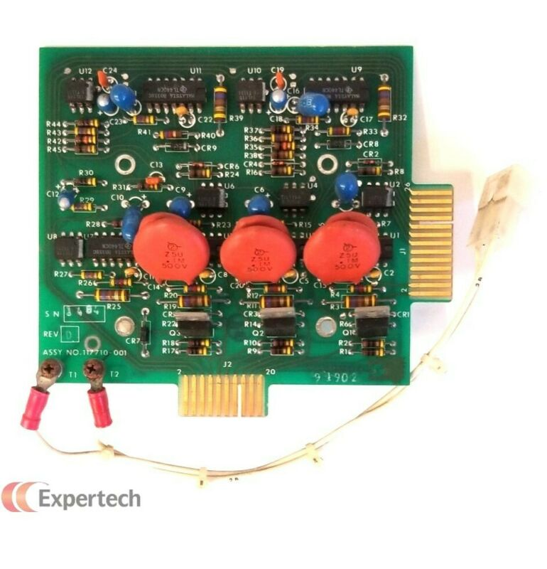 Thermco 117710-001, Firing Card, Working When Removed