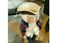 LARGE TOBY JUG by TONY WOOD