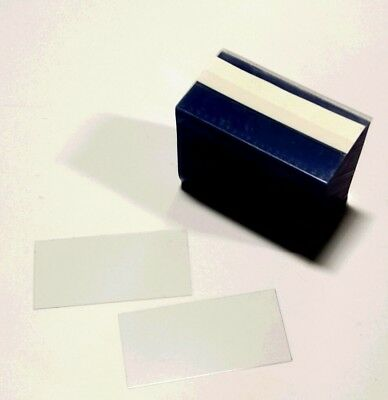 Gondola Clear Plastic Shelf Strips Chips For Price Tags- 2.5 500lot