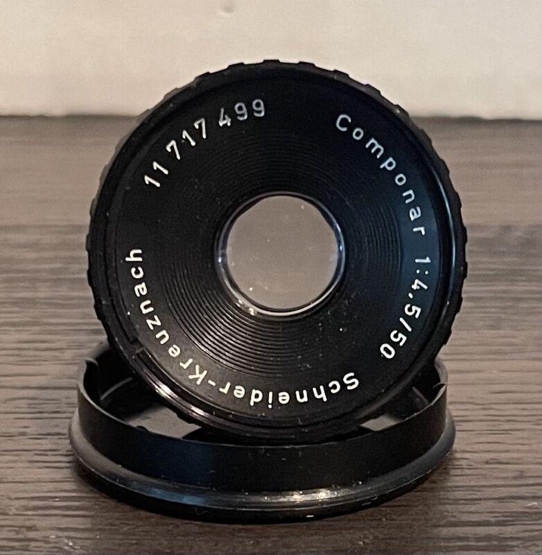 Schneider-Kreuznach Componar 50 f/4.5 Enlarging Lens Made In Germany