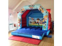 Bouncy Castle Commercial Made For Sale - ready to go - Paw Patrol
