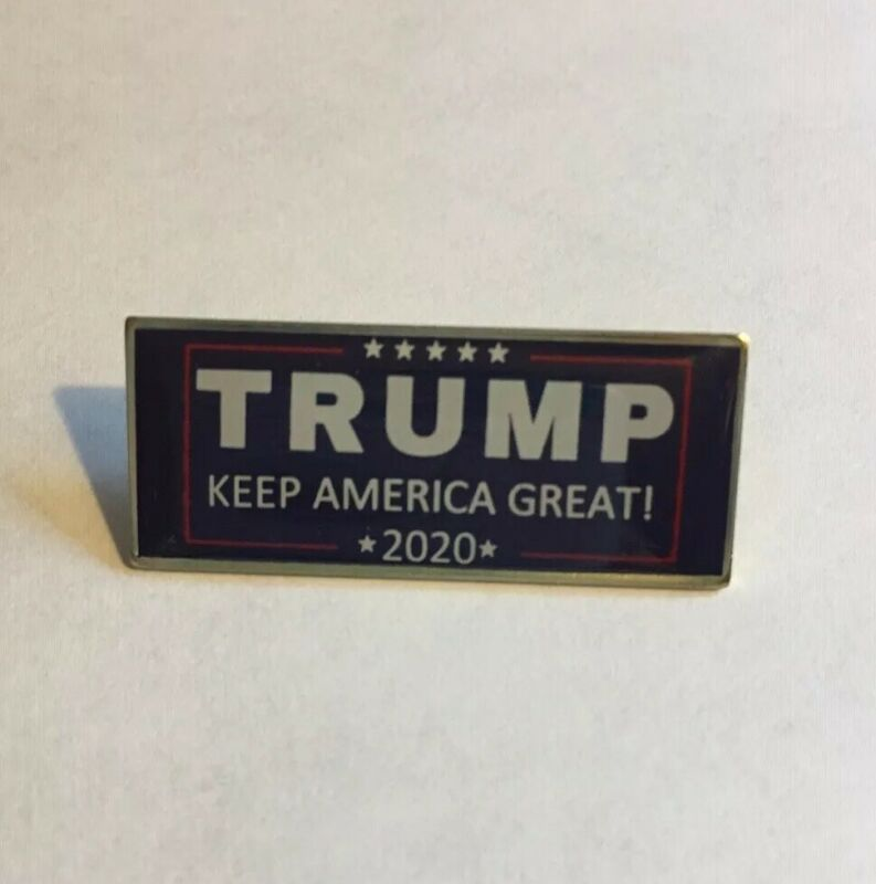 Trump Keep America Great MADE IN USA President 2020 Patriotic Lapel Pin