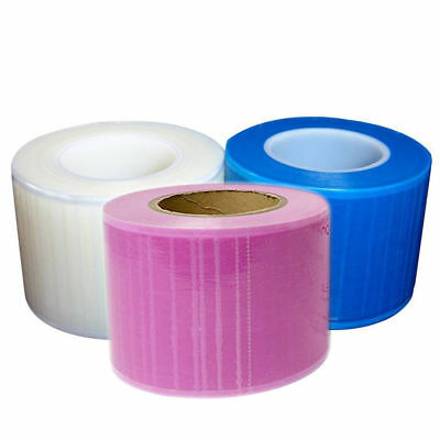 Barrier Film 4x6 1200 Perforated Sheets Blue Clear Pink Dental