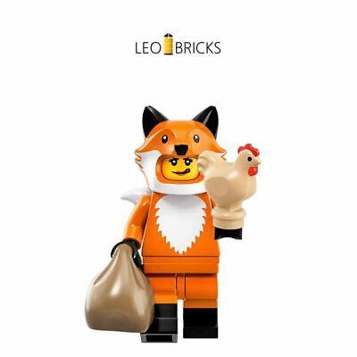 LEGO® 71025 Minifiguren Serie 19 Mädchen / Frau im Fuchskostüm *Fasching* *NEU*