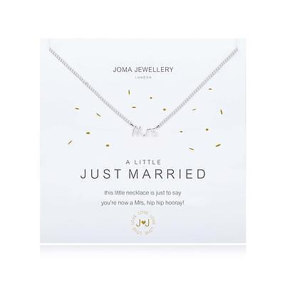 Joma Jewellery Necklace - a little Just Married