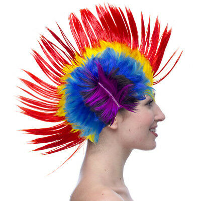Will fit - Children Mohawk Wig Mohican Funny Rock Fancy Dress Party Costume Hair - Kids Mohawk Wig