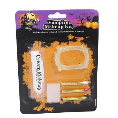 Disfraz de Halloween Vampiro Kit de Maquillaje - Disfraz De Halloween De Vampiros
