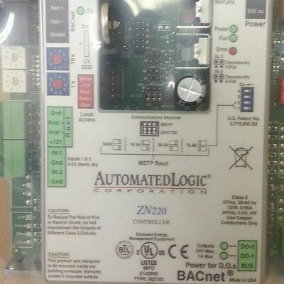 Automated Logic Control Board Zn220 Zone Controller Bacnet