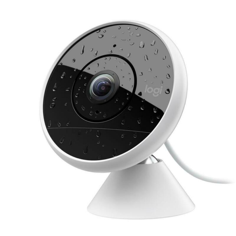 Logitech Circle 2 WIRED Indoor/Outdoor Weatherproof Home Security Camera
