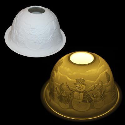 Christmas Decoration LED Ceramic Night Light LB162017 - Snowman Group