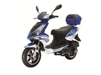 Nipponia Dion 125cc Learner Legal Scooter - 2 Years Parts & Labour Warranty