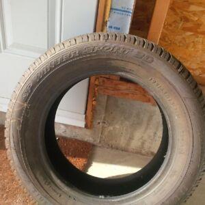 Dunlop winter sport 3D 195/65/R15