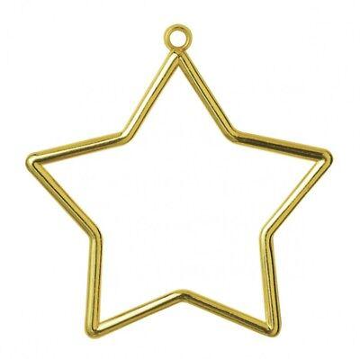 Vervaco Plastic Star Shaped Cross Stitch Frames Gold (PN-0009468 ...