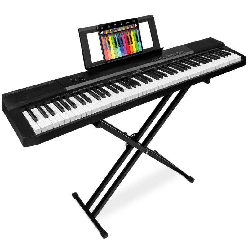 88-Key Piano Set Digital Full Size Stand Pedal Keyboard Musi