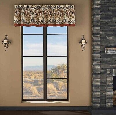 J Queen New York Adrianna Waterfall Valance 49 x 33 New Impossible to Find