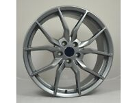 """19"""" RS3 Style Alloy wheels & Tyres for Ford Focus, Transit Connect, Volvo S40, V40 ETC"""