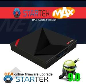 Android TV box Android 9.0 IPTV with 4gb RAM 64gb ROM 5G WIFI Bluetooth - 6 month guarantee -