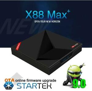 ANDROID 9.0 TV BOX IPTV IP TV BOITE TELE 6 MONTH WARRANTY