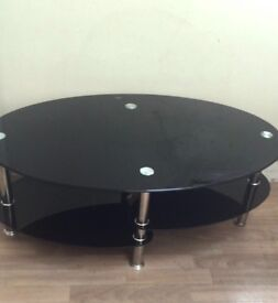 Glass Centre table - excellent condition