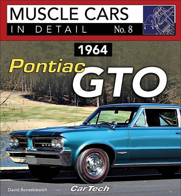 Muscle Cars In Detail No. 8  1964 Pontiac GTO - Book CT590