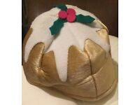 Christmas Pudding Hat - Unisex - With Tags