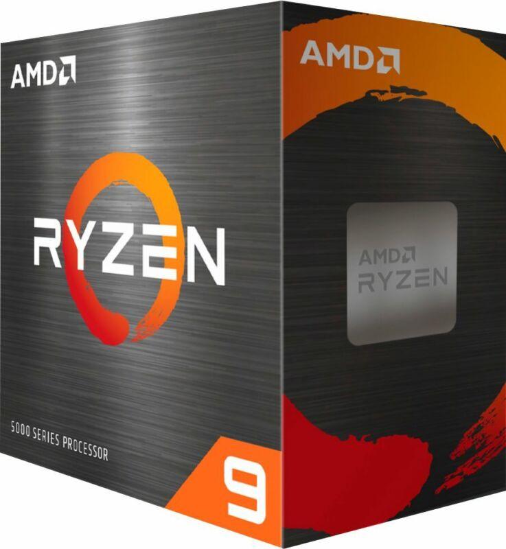 AMD - Ryzen 9 5950X 4th Gen 16-core, 32-threads Unlocked Desktop Processor Wi...