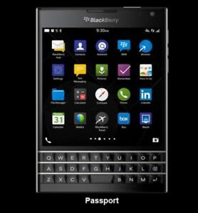 The Cell Shop has a BlackBerry Passport works on Bell/Virgin **PRICE DROP**