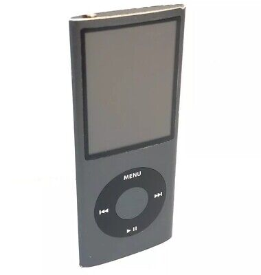 Apple iPod Nano 4th Generation 8 GB Space Grey/Black A1285 Portable mp3 - Works