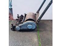 Vintage lawnmower /grass cutter Greens supreme 10ins.cut