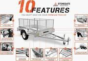 $100 OFF! Premium 7x5 Box Trailer with Cage, spare and Rego Runaway Bay Gold Coast North Preview