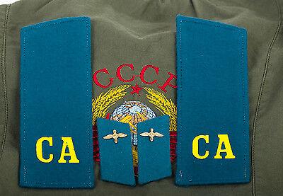 Schulterstücken Kursant Luftstreitkräfte Uniform UDSSR CCCP Sowjet Armee