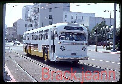Circles San Diego (CA) original bus slide # 5124 taken 1981
