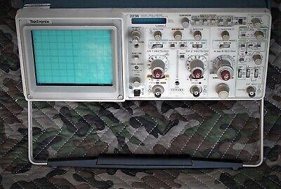 Tektronix 2236 100mhz Oscilloscope Wcountertimerdmmtwo X1x10 Probes Manual