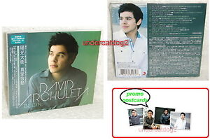 David Archuleta Begin 2012 Taiwan Ltd CD +4 postcards (Digipak)