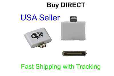 30 Pin to 8 Pin Dock Connector Adapter Converter For iPhone 6 & 5 to iPhone