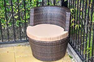 Rattan Wicker Chair Frenchs Forest Warringah Area Preview