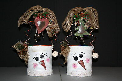 Recycled tin cans halloween recycled tin cans christmas for Christmas crafts out of tin cans