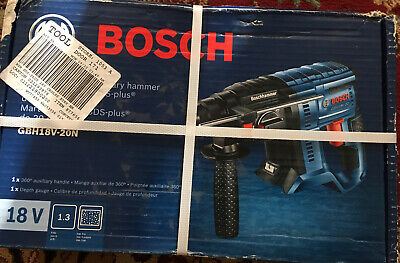 Bosch Bulldog Core18v-amp 34-in Sds-plus Variable Speed Rotary Hammer Drill