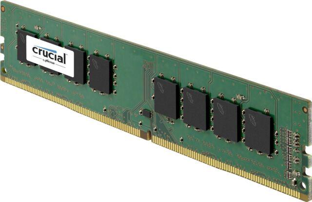Crucial 4GB DDR4 2133MHz PC4-17000 CL15 288pin Non ECC Desktop Memory RAM 1.2V