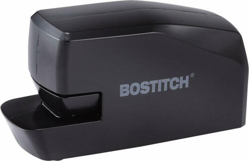 Bostitch Portable Electric Stapler 20 Sheets AC or Battery Powered, Black Office