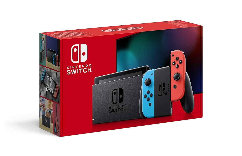 Nintendo Switch Konsole - Neon-Rot/Neon-Blau (2019 Edition) * NEU * OVP *